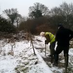 Moving posts on meadow range
